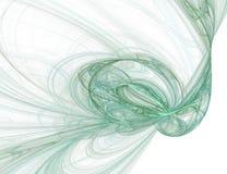 Ilustração gráfica verde Fotos de Stock