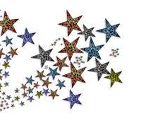 Ilustração Handmade #2 das estrelas Imagem de Stock Royalty Free