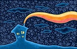 Ilustração Home Imagem de Stock