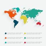 Ilustração infographic do vetor do detalhe Foto de Stock