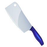 Ilustração isolada faca do talhador Fotografia de Stock