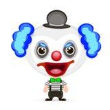 Ilustração louca do palhaço Imagem de Stock Royalty Free