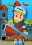 A ilustração medieval dos desenhos animados Foto de Stock