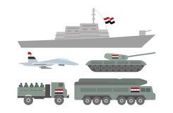 Ilustração militar da maquinaria Foto de Stock Royalty Free