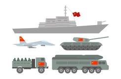 Ilustração militar da maquinaria Imagens de Stock Royalty Free