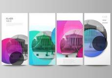 A ilustração minimalistic do vetor da disposição editável do inseto, moldes do projeto da bandeira Brilhante moderno criativo ilustração do vetor