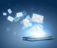 Tecnologia de comunicação moderna fotos de stock