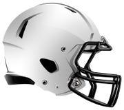 Ilustração moderna do capacete de futebol Imagens de Stock Royalty Free