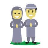 Ilustração muçulmana do vetor Fotografia de Stock Royalty Free