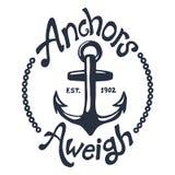 Ilustração náutica do vintage Imagem de Stock Royalty Free