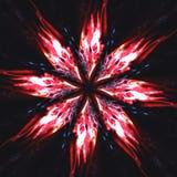 Ilustração no estilo retro com sunburst Foto de Stock Royalty Free