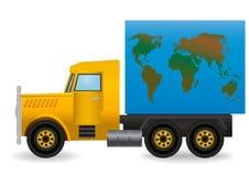 ilustração o caminhão. ilustração royalty free