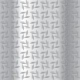 Ilustração ondulada do vetor da placa de aço Imagens de Stock Royalty Free