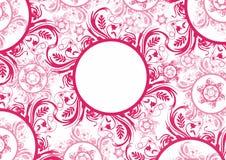 Ilustração para cartões ou fundos da página para trabalhos, em cores diferentes fotografia de stock royalty free