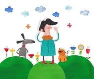 Ilustração para crianças Foto de Stock