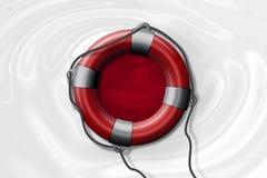 Ilustração para esforços de salvamento em Japão durante a inundação Imagens de Stock