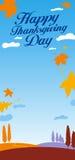 Ilustração para o dia da acção de graças. ilustração do vetor