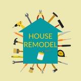 Ilustração para o reparo home Imagem de Stock Royalty Free