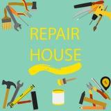 Ilustração para o reparo home Fotografia de Stock Royalty Free