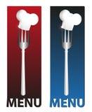 Ilustração para restaurantes Foto de Stock Royalty Free