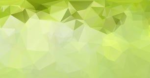 Ilustração poligonal abstrata, que consistem em triângulos Tri Imagem de Stock Royalty Free