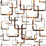 Ilustração quadrada sem emenda do Grunge Fotografia de Stock Royalty Free