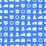 Ilustração regulamentar do conceito da proteção de dados geral GDPR - 25 de maio de 2018 Foto de Stock