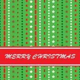 Ilustração retro do Natal Fotos de Stock Royalty Free