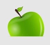 Ilustração saboroso doce do vetor da maçã Foto de Stock