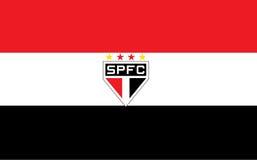 Ilustração Sao Paulo Brasil do clube do futebol Imagens de Stock