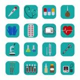 Ilustração saudável humana do vetor do kit de primeiros socorros do cuidado da operação de serviço do hospital médico das ferrame ilustração royalty free