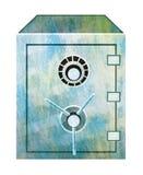 Ilustração segura do banco ilustração stock