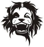 Ilustração selvagem do leão ilustração stock