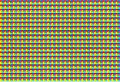 Ilustração sem emenda abstrata do vetor da planície do teste padrão do guingão ilustração stock