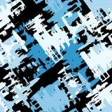Ilustração sem emenda colorida Grunge do vetor do teste padrão dos grafittis Fotos de Stock Royalty Free