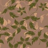 Ilustração sem emenda da flor da mola ilustração stock