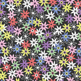 Ilustração sem emenda da flor, fundo Fotos de Stock