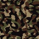 Ilustração sem emenda do fundo do teste padrão da camuflagem As forças armadas camuflam ilustração stock