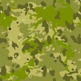 Ilustração sem emenda do fundo do teste padrão da camuflagem As forças armadas camuflam ilustração do vetor