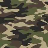 Ilustração sem emenda do fundo do teste padrão da camuflagem Clas ilustração do vetor