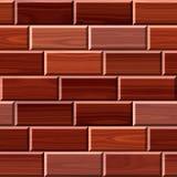 Ilustração sem emenda do revestimento de madeira do parquet Ilustração Royalty Free