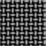 Ilustração sem emenda do vetor do fundo do preto do sumário do teste padrão Fotos de Stock