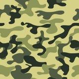 Ilustração sem emenda do vetor do fundo do teste padrão da camuflagem ilustração royalty free
