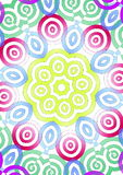 Ilustração simétrica colorida Foto de Stock Royalty Free