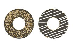 Ilustração simples dos anéis de espuma Foto de Stock