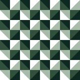 Ilustração simples na moda do triângulo da xadrez Estilo de pintura criativo, luxuoso da cor imagem de stock royalty free