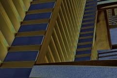 Ilustração Solarized de Zig Zag imagem de stock royalty free