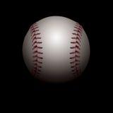 Ilustração sombreada do basebol Fotos de Stock Royalty Free