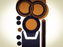 Ilustração temático da arte do email do Web site Fotos de Stock