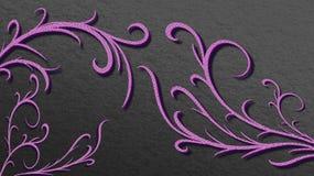ilustração textured roxa abstrata Imagem de Stock Royalty Free
